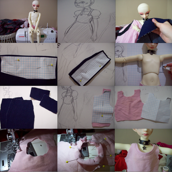 Sewing for BJDs: Jumper-1 by super-spazz-muffin