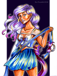 Holiday Exchange: Sailor Pisces by Ra-Punzelle