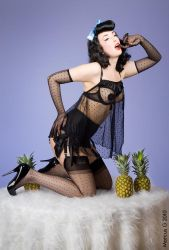 Pineapple Pinup 1 by mrboing66