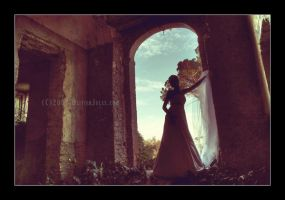 The bride wore black by OliverJules
