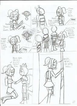 SpaceChannel5 Love and Rhythm: The Beginning 1-23 by nightsfangirl23