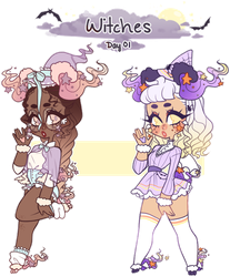 Day 01: Witches - CLOSED - by jawlatte