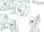 Tactical Retreat by EwoudCPonies
