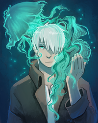 jellyfish mushi by nebluus