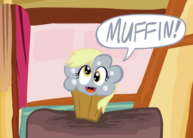 Muffin-Derpy by UltraTheHedgetoaster