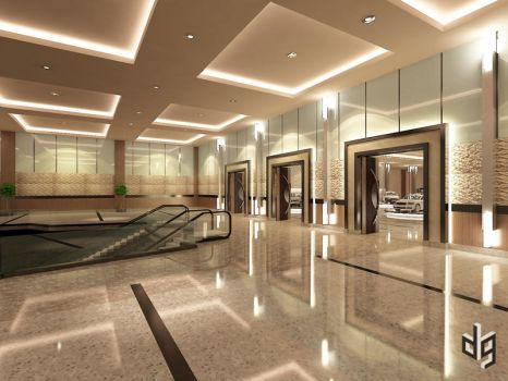 Convention Hall 2 by deguff