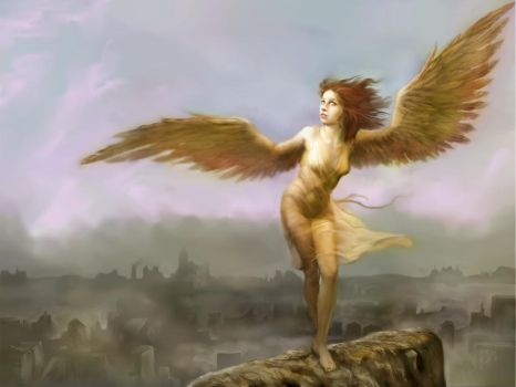 Where Angels fear to tread by SteveDeLaMare