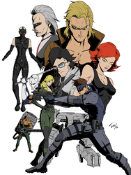 Metal Gear Solid Poster by d-toro