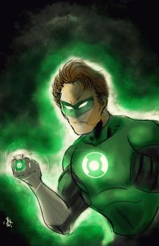 Green Lantern - Beware  My Power! by anonymous1310