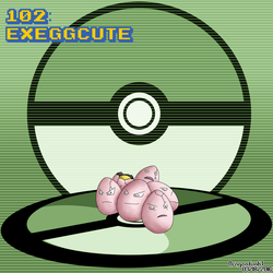 #102 Exeggcute by Dragonfunk7