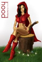 Not so Little Red Riding Hood by Area-44