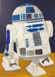 R2D2 May the 4Th be with you by ranchlamb