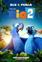 Rio 2 Poster Blu and Jewel by MelySky