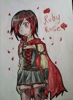 Ruby Rose RWBY by YuiMurasaki