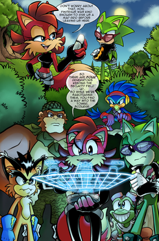 Scourge Eternal Blackout: Issue 2 pg 2 by 5courgesbestbuddy