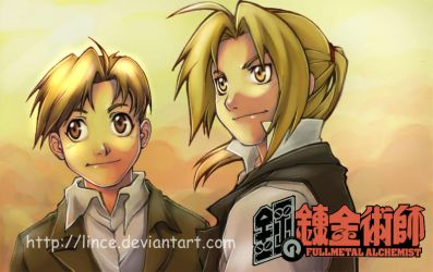another....Ed and Al by lince
