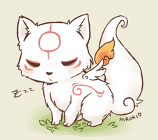 Sleepy Ammy by ZaraAlfonso