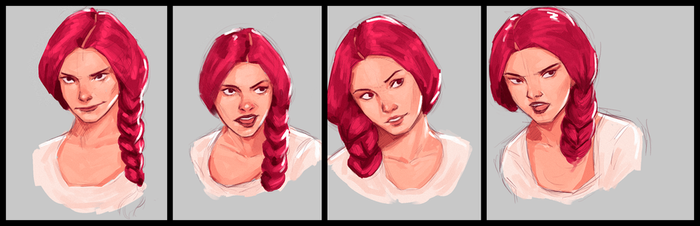 Study Expressions by DesignerRenan
