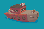 OUYA Tugboat by willy-wilson