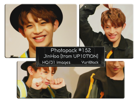 Photopack #152 - JinHoo [from UP10TION] by YuriBlack