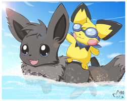 A New Way to Surf by pichu90