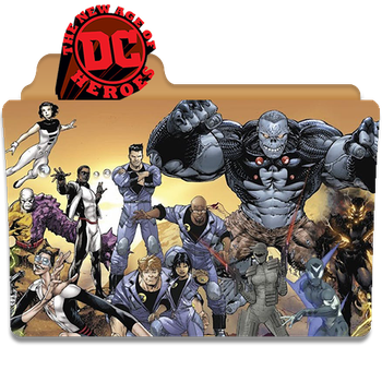 DC New Age of Heroes by DCTrad