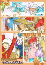 Preview Calendar 2014 by Dacachi