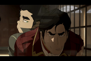 Iroh II and Bolin by LovePeaceHearts