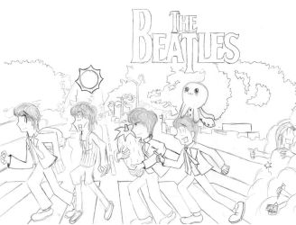 The Beatles by aquakent33