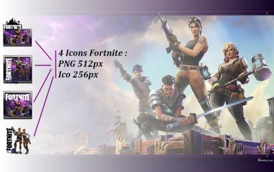 Fortnite icons PNG ICO by favorisxp