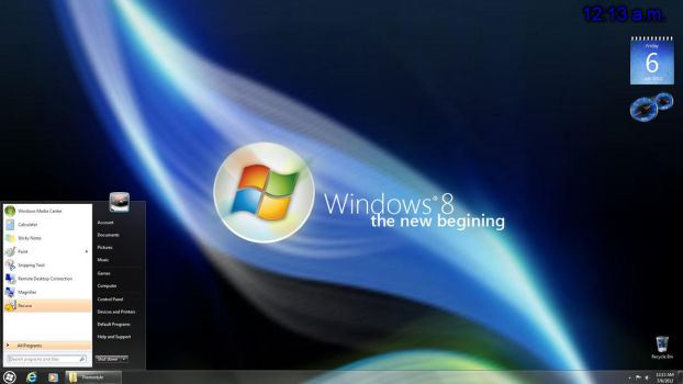 Windows 8 Standard Pack 2.0 by secretxax