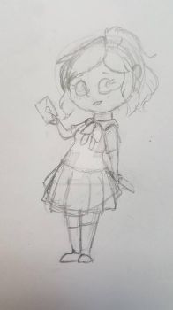Ayano Yandere-chan Aishi (Yandere Simulator) by Rabies-the-Squirrel