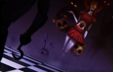 Out with the Old..in with the New... (FNAF Fanart) by Neytirix