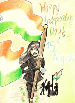HAPPY INDIA INDEPENDENCE DAY 2015 by SugarBubbles2000