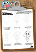 Drawing Gumball by abcdede60