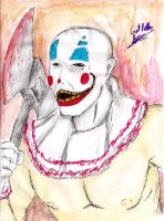 Shivers The Clown by hewhowalksdeath