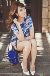 Tricia G. for Lacoste L!VE by slumberdoll