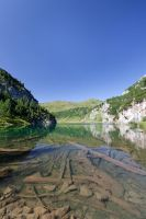 Natural Mountain Lake by cluster5020