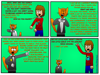 Dan Comics No.57 - New Girl in Town 10 by The-Happy-Spaceman