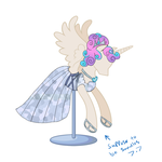 Remberence Dress contest Flurry Heart by AmerillaRose