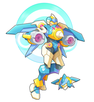 Commission: Biometal Model AV by ultimatemaverickx