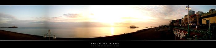 Brighton Piers by x-vegan-x