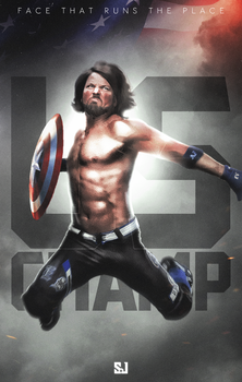 Aj Styles - Face That Runs The Place by Sjstyles316