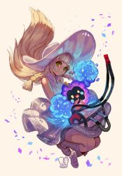 Pokemon : Lillie and Nebby by Sa-Dui