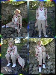 Fifth Doctor Photo shoot by Londonexpofan