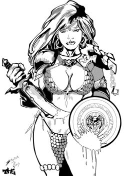 Red Sonja by Tomasu815