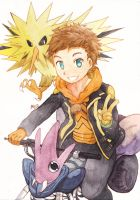 Commission - Spark (Pokemon GO) by revanche7th