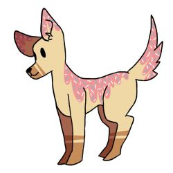 donut dog adoptable (closed) by hesitantHeroine