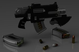 Warhammer 40K Phobos Bolter 2 by ClaireGrube