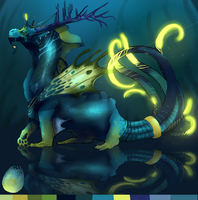 Mystery Dragon Adopt- Turqoise by Deviant-Soulmates